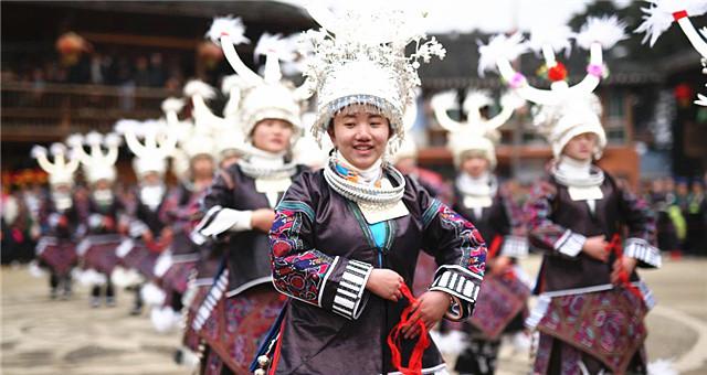 贵州丹寨:乡村文化节 欢乐闹新春