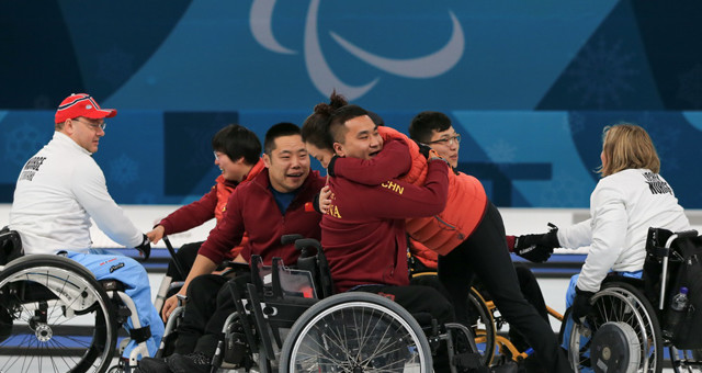 中国代表团实现冬残奥会金牌零的突破