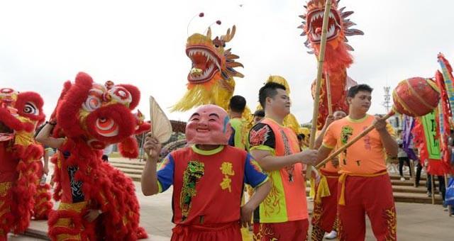海口举行二月二龙抬头海洋民俗文化旅游节