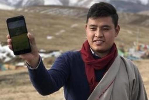 藏族小伙返乡创业