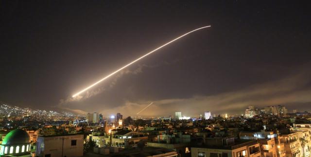 叙利亚首都大马士革遭遇空袭