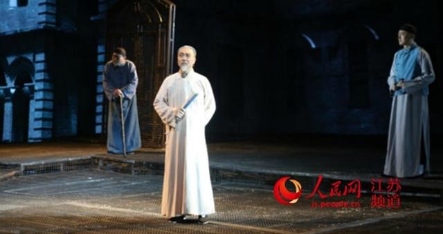 南通本土话剧《张謇》登上国家话剧院舞台