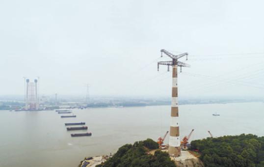 五峰山220千伏跨越长江输电线路改造