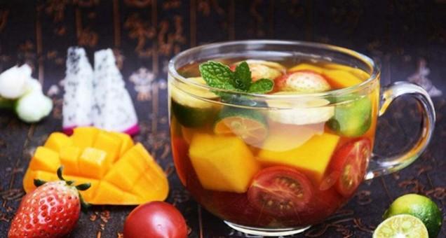 让水果茶给你一夏天的神清气爽