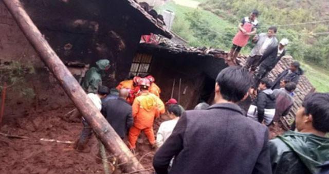 云南巧家县遭强降雨袭击2村民遇难