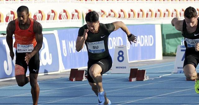 9秒91!苏炳添追平亚洲百米纪录