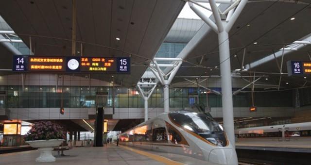 京津城际时速350公里开跑