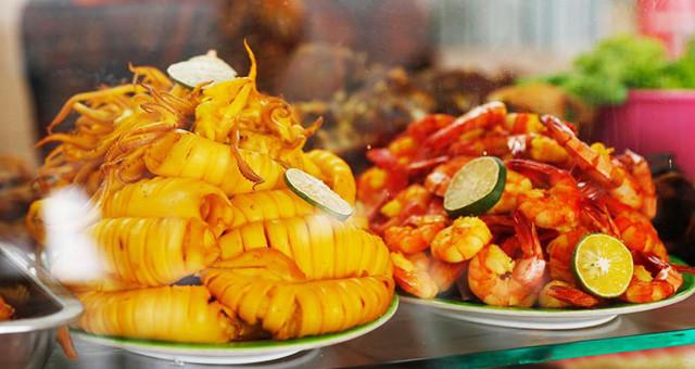 雅加达亚运会美食街吃一顿不到20元 便宜诱人