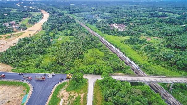 文琼高速项目稳步推进 预计明年11月份通车