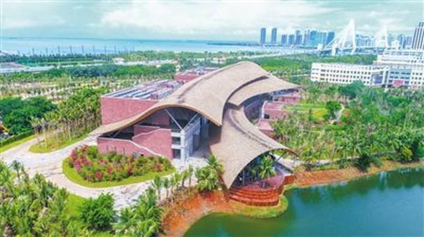 海口市民游客中心基本完工
