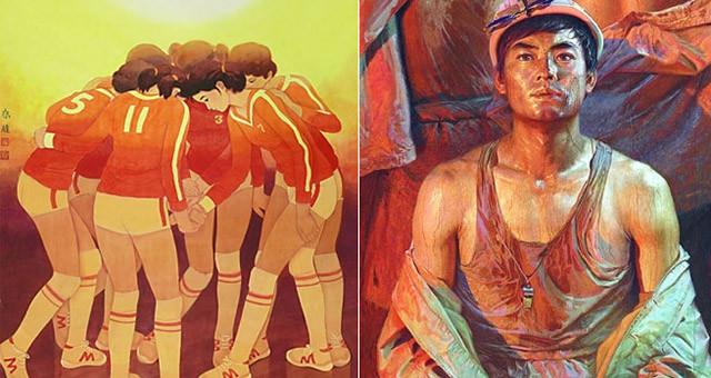 中国美术馆典藏精品中的改革开放40年