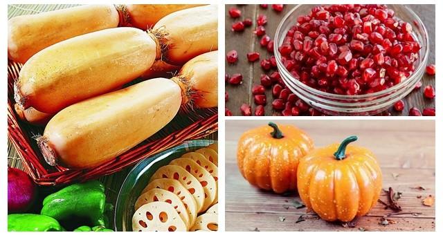 石榴、莲藕、南瓜……这些秋季应季美食别错过