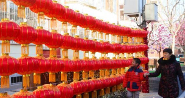春节临近 北京街头年味渐浓