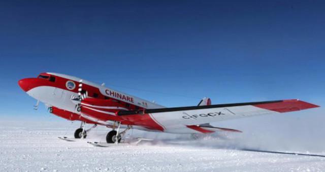 中国固定翼飞机完成东南极冰盖航空探测