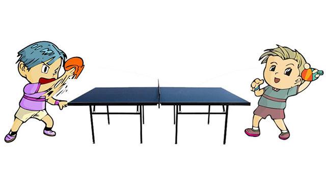 打乒乓球,健脑护眼好处多