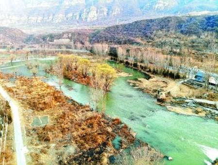 永定河首次开启跨流域补水保障世园会