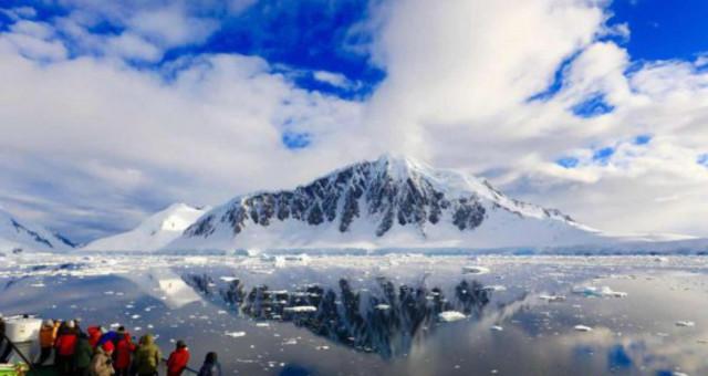 探访美丽的南极风光