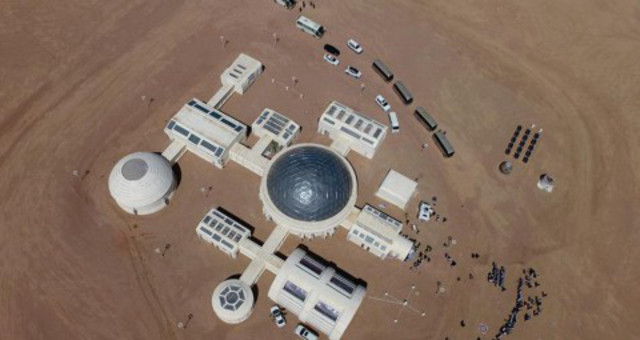 中国首个火星模拟生存基地开营