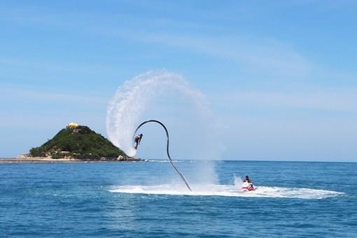西岛景区招募嗨玩达人打卡海上运动