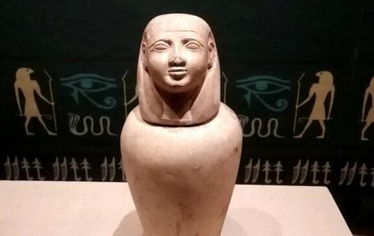 徐州首次举办古埃及文物特展 121件文物亮相