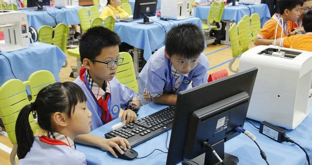 福州仓山首届中小学3D打印大赛举行总决赛