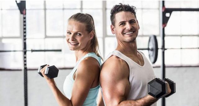 女性比男性更爱健身