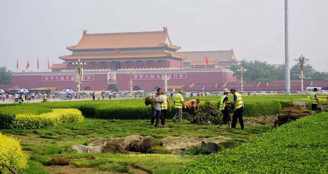 北京天安门广场将启动景观工程