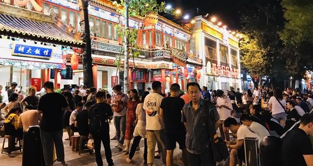 """探访北京一夜:""""夜京城""""地标商圈引力强"""