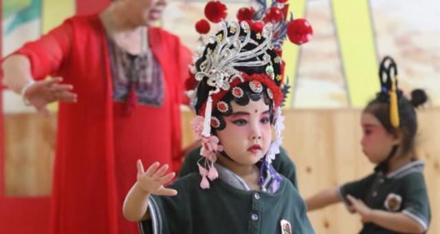"""石家庄井陉:微水丝弦""""小艺人"""""""