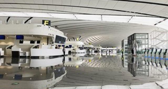 大兴国际机场自助设备超八成