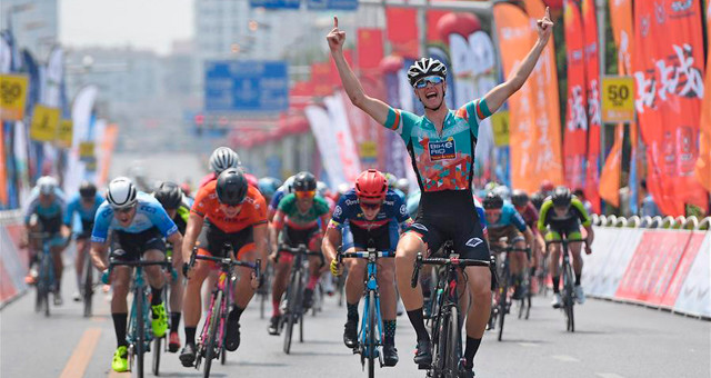 第十届环鄱阳湖国际自行车赛第二赛段赛况