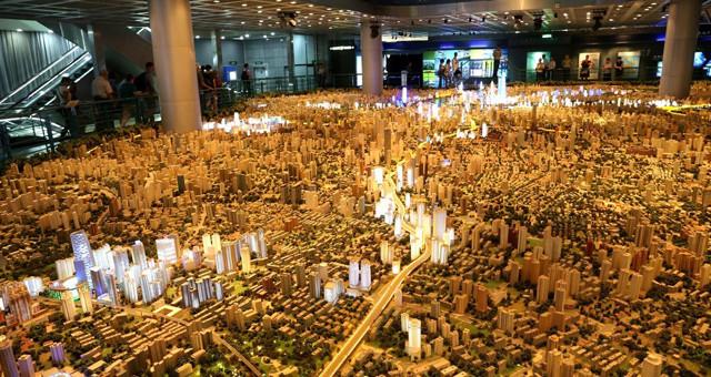上海:世界最大都市缩微景观模型令人叹为观止