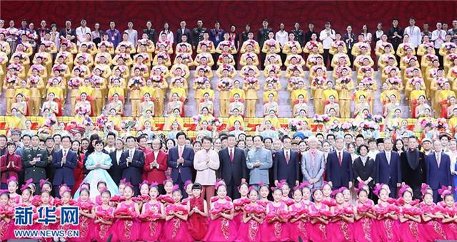 庆祝新中国成立70周年大型文艺晚会在京举行