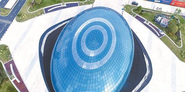 南通海安首座机器人科技展馆建成