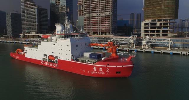 """""""雪龙2""""号首航 开启第36次南极科考之旅"""