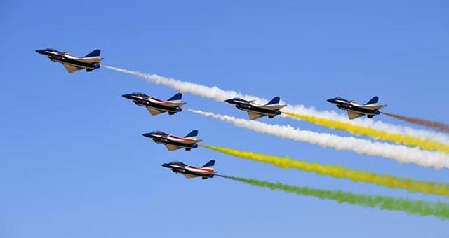 空军展翅长春庆祝成立70周年