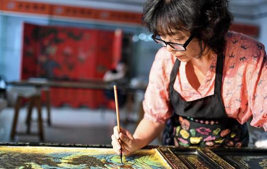 金漆镶嵌—古老的手工艺重现生机