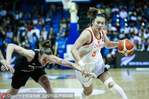 中国女篮完胜新西兰