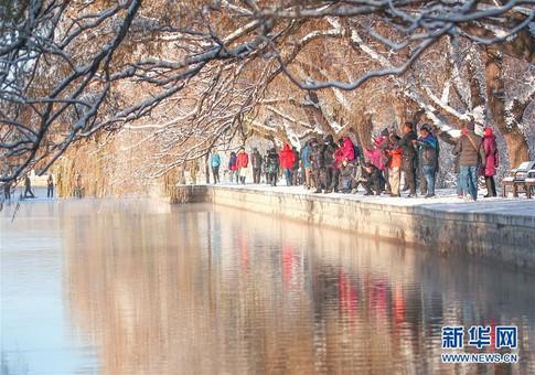 雪后盛京美如画