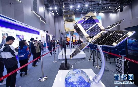 澳门航天科普展:揭晓澳科一号卫星