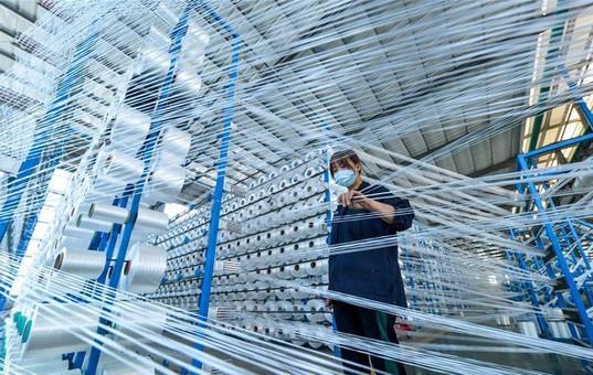 河北鸡泽:企业复工复产赶订单