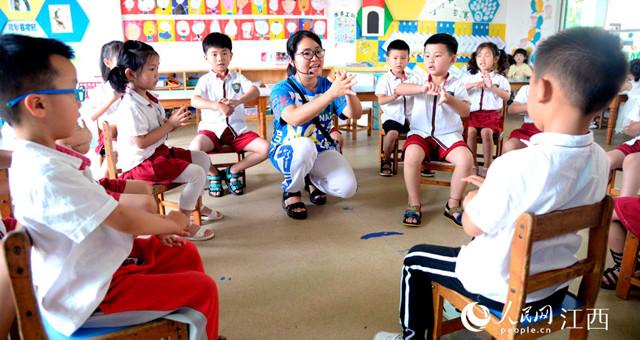 江西南丰:幼儿园有序开学