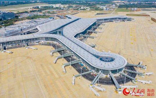 海口美兰国际机场二期扩建项目主体工程完工