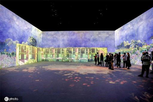 光影中的法式浪漫 意大利举办莫奈主题展