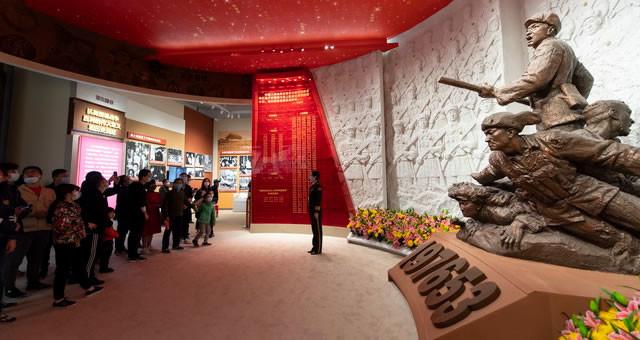 纪念抗美援朝70周年主题展向公众开放