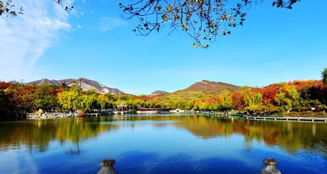 3.6万株彩叶树绘就北宫森林公园美丽秋色