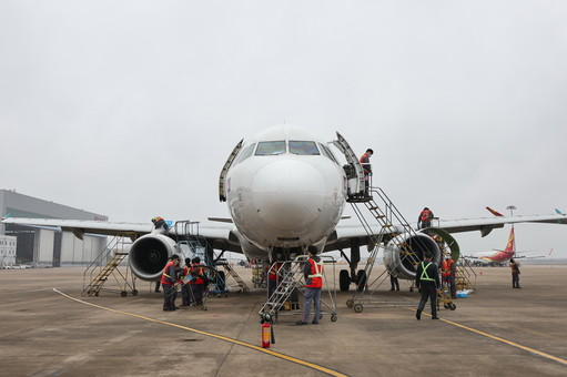 海南自贸港迎来首单境外飞机进境保税维修业务