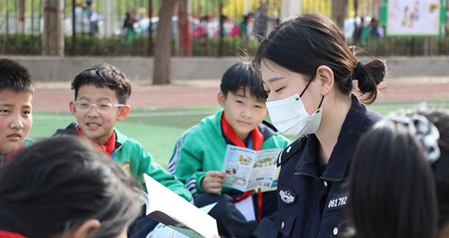 沧州南皮:禁毒知识进校园