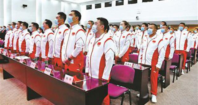 奥运会中国派境外参赛史上规模最大代表团