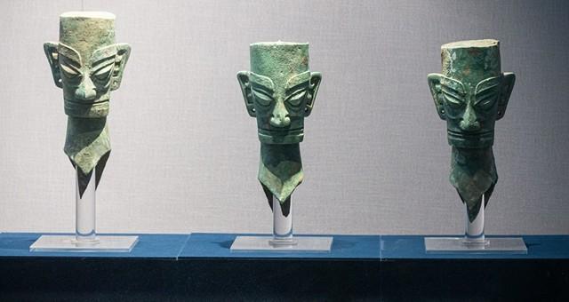 三星堆遗址、金沙遗址出土文物赴杭州展览